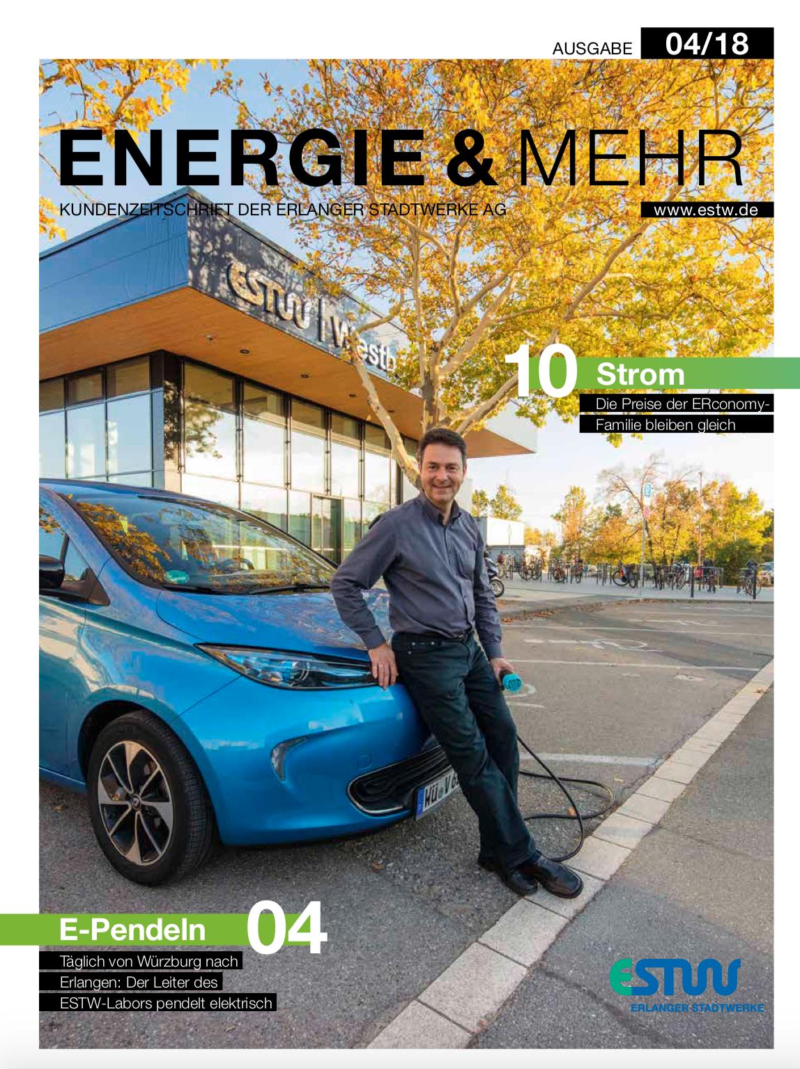 Unser Elektropendler - Täglich Erlangen und zurück