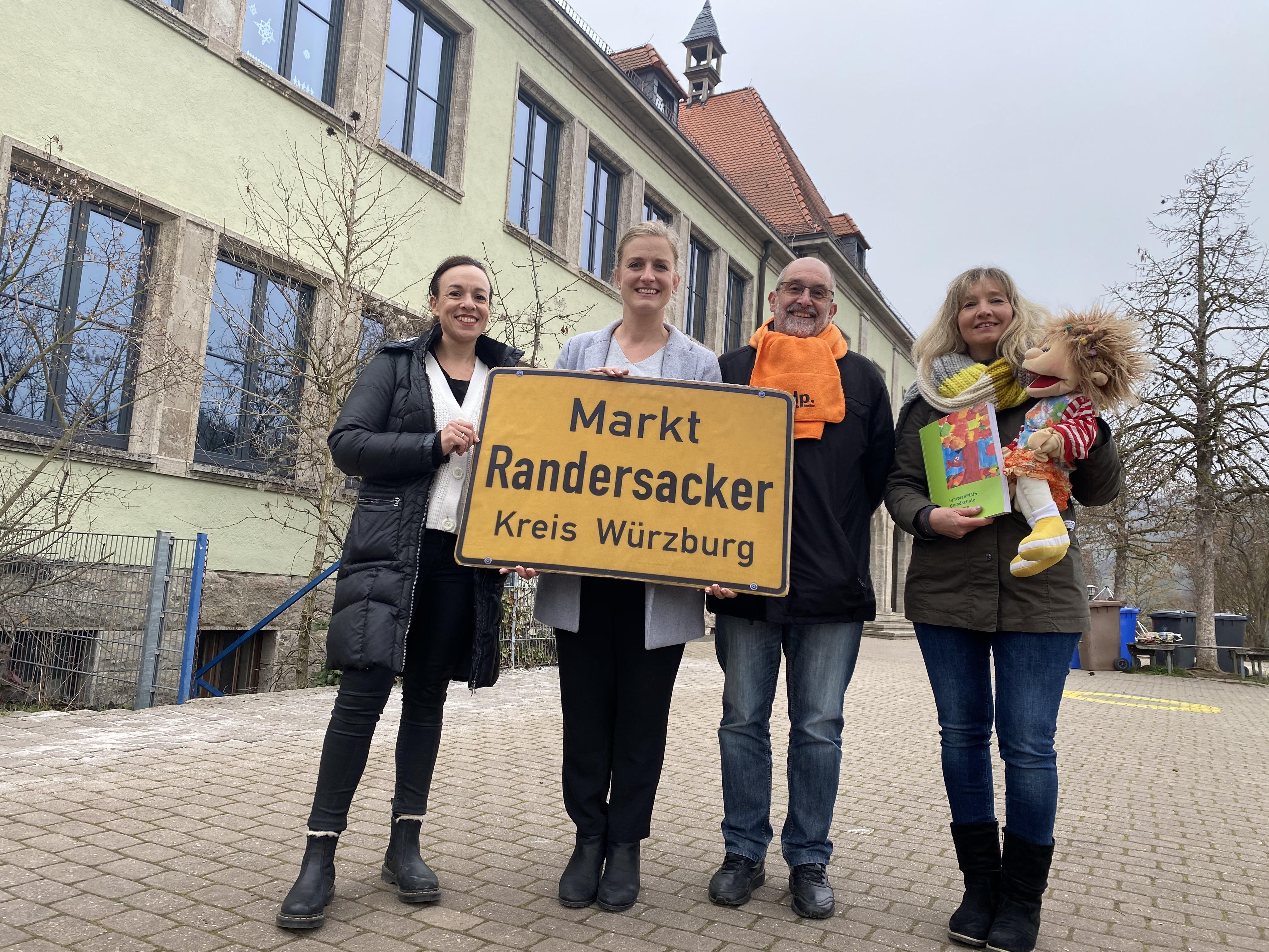 Wir sind Randersacker! Wir haben für Schule und Kindergarten große Kompetenz - Pädagogen, Elternbeirat , Schulverwaltung,...