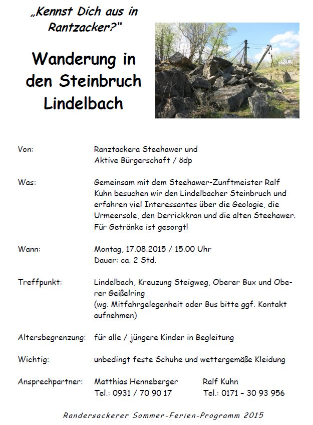 14.08.2014 - Open Air Konzert im Martinshof! Live mit Thomas Wenzl