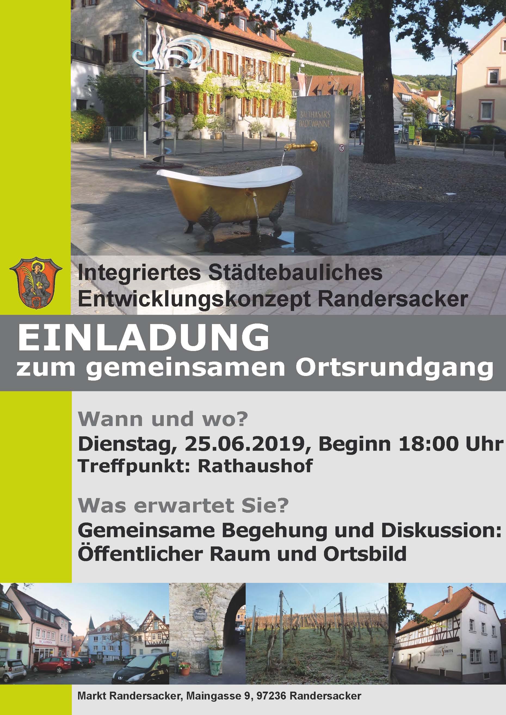 Gemeinsamer Ortsrundgang zur Städtebauförderung - Kommunalpolitisches Bürgergespräch spezial