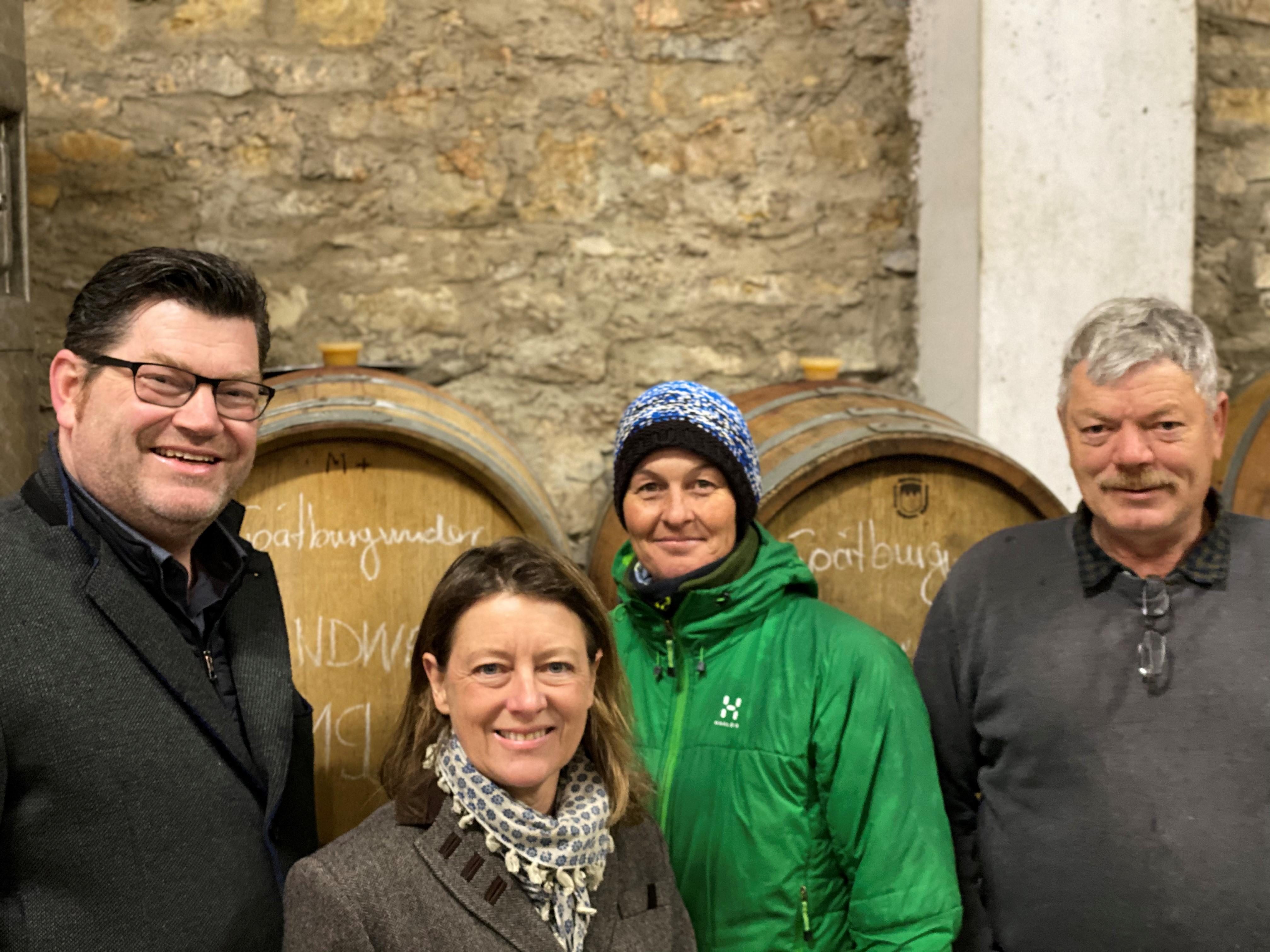 Wir sind die Liste mit der Weinbaukompetenz