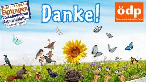 Welch ein Erfolg! 30,37% in Randersacker für das Artenschutzvolksbegehren