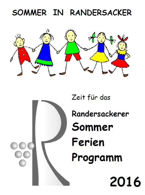 Sommer-Ferien-Programm 2016 - Unsere Beiträge